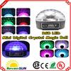 Mini Digital RGB LED Crystal Magic Ball Effect Light DMX Disco DJ Stage Lighting