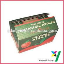 Ecofriendly Corrugated Apple Carton Box Apple Box