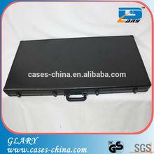 black aluminum rugged dancing aluminum instrument carrying case