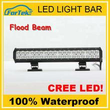 Super Bright Two Rows 17 inch Spot/flood/combo 4x4 off road led light bar FK-LED108W 3*36C