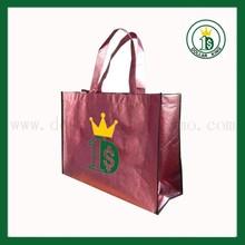 Pink Cheap non woven bag/pp non woven bag/non woven shopping bag