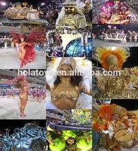 Hola samba traje atractivo para Karneval