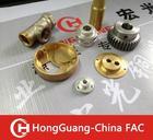 small brass gears