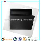 Black matt paper box China exporter,black matte packaging paper box,matte black paper box