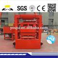 Qt4-26 semi automática bloco de concreto oco máquina de lista de preços