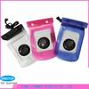 Pvc waterproof bag for mobile phone and camera