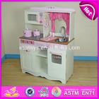 2014 Kids Toy Wooden Kitchen toy Cookin Set,Hot sale Wooden Role Play Toy Kitchen set Mini Furniture Set W10C058