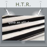 black white colour Striped fabric for garments