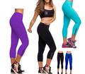 ผู้หญิงถุงน่องกางเกงรัดรูปโยคะทำงานกางเกงเอวสูงตัดกางเกงออกกำลังกาย