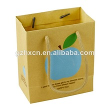 Wholesale Kraft Paper Shopping Bags Packing with PP Rope