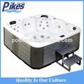 Mini-indoor spa banheira de água quente, interior banheira de hidromassagem banheiras de água quente