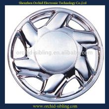 "universal 13""14"" silver plastic chrome wheel hubcap"