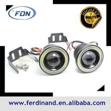 2014 new generation universal led fog light angel eyes led projector lens cob angel eyes halo 2.5 inch 2.8 inch