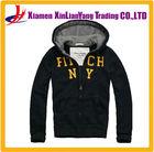 navy blue hooded sweatshirt mens custom embroidered hoodies