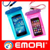 Top quality multi-color PVC mobile phone waterproof pouch