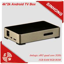 Amlogic S802 4K Android Quad Core TV Box 2GB RAM