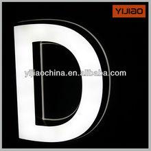 long life Led channel illuminated mini alphabet letter