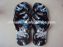 Factory hot new style beach promotion PE flip flop slipper my264