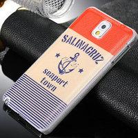 Custom hard plastic cell phone case for samsung galaxy note 3 ,For Galaxy Note 3 Plastic back cover case New arrival good case