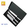 stainless steel 3 pcs EVA gift box Japanese knife set