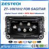 ZESTECH 7 Inch HD touch screen 2 din head unit car dvd player gps navi for vw passat with radio bt usb sd mp3 dvd cd player