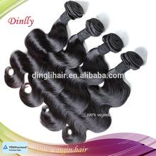 Qingdao dingli Brazilian hair, unprocessed wholesale cheap brazilian hair bundles