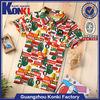 custom high quality printed wholesale cotton kids t shirt