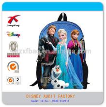 children girls school bags elsa queen backpack bags 2014
