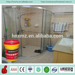 Permanent waterproof effect cementitious waterproofing coatings for bathroom