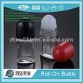 2015 venta caliente 50ml desodorante roll on de vidrio perfumes y fragancias