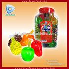 Mixed fruit shape suck Jelly