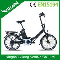 High Quality Brushless Motor Mini Folding Electric Bicycle