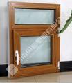 variedad de la serie de madera del pvc marcos de ventana de diseños