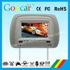 Compatible with DVD/CD/CDG/MP4/MP3/WMA/JPEG/RMVB(MP5) car dvd headrest
