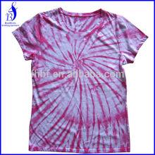 divergent pattern rock and roll garment tie dye man tshirt