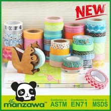 Manzawa Japanese masking tape,colored masking tape,custom printed masking tape