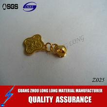 SGS certificated swiss teeth stylish cord ring zip pull handbag zipper pulls
