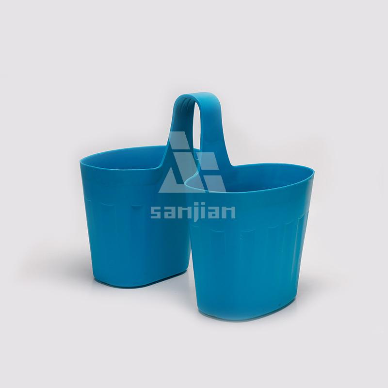 Venda quente novo estilo potes de plástico para plantas