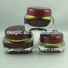 9 year Manufacturer 5ml 15ml 30ml 50ml 100ml Jar Empty plastic cosmetic packaging cream jar