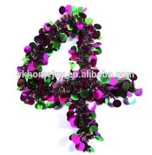 PET Christmas Outdoor Tinsel Garland Decorate