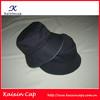 2014 black nylon coton bucket Hat / Fishman Cap with custom logo design (High quality)