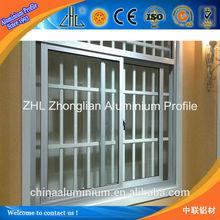 6061/6063 high quality aluminium extrusion profile offering,best grade aluminium anti-theft window,OEM