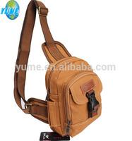 Fashion popular vintage canvas shoulder pack