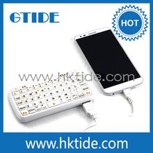 Gtide PK001 bluetooth keyboard case for samsung galaxy s4