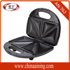 2 Slice Commercial Grill Triangle Sandwich Maker Non Stick CE GS