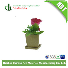 natural material bamboo plant fiber flower pot with different colors