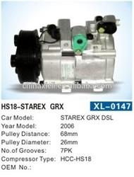 HCC-HS18 STAREX GRX DSL auto a/c air conditioning hyundai parts car parts hyundai auto parts prices