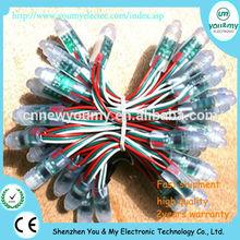 quare Shape Waterproof IP68 12mm LED Pixel Module String LED Pixel Module Light;DC5V input Full Color