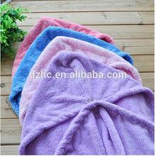 Lady Magic fast Hair Drying Bath Wrap Twist Towel Hat Cap Quick Dry Microfiber