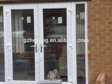2014 hot sale PVC side hung door French pvc entry door D-P15
